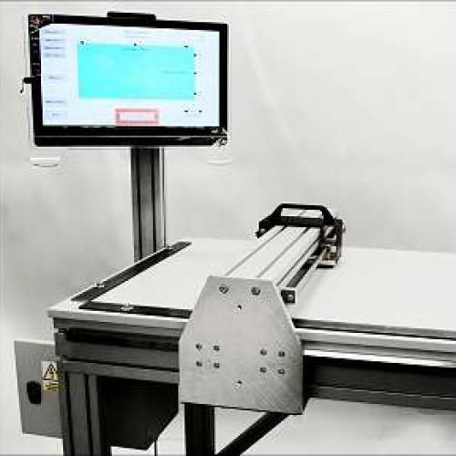 Firma CAZER s.r.o. vyrobila a předala zákazníkovi dvouosý souřadnicový měřící stůl pro ověřování rozměrů plošných výrobků.