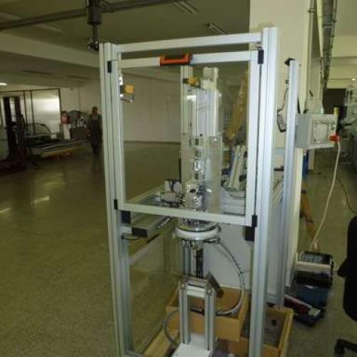 Firma dokončuje poslední  mechanické úpravy a vyladění softwaru stroje SPK2