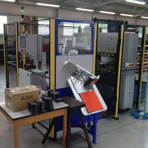 We complete and revive a robotic workplace at the customer PVN-900/II